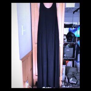Black Merona Maxi Dress